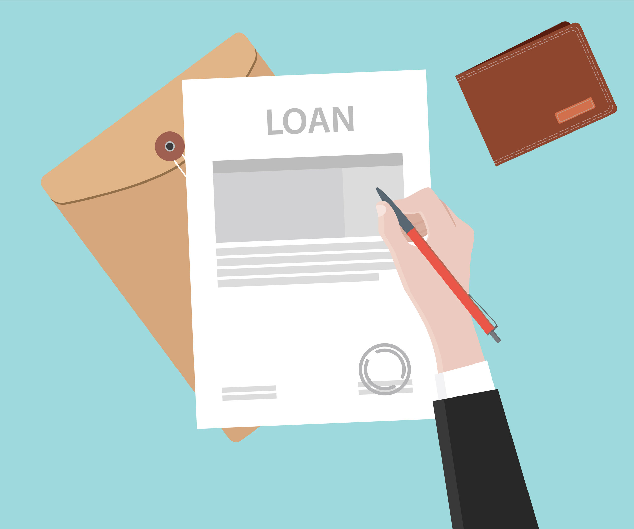 loan document graphic