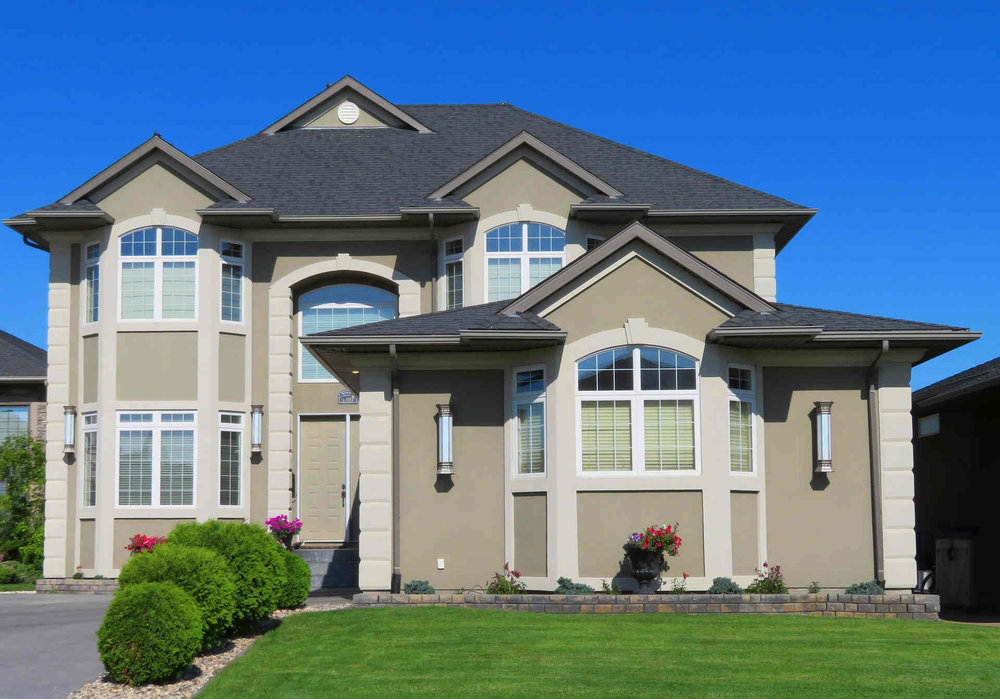 beige home with loan