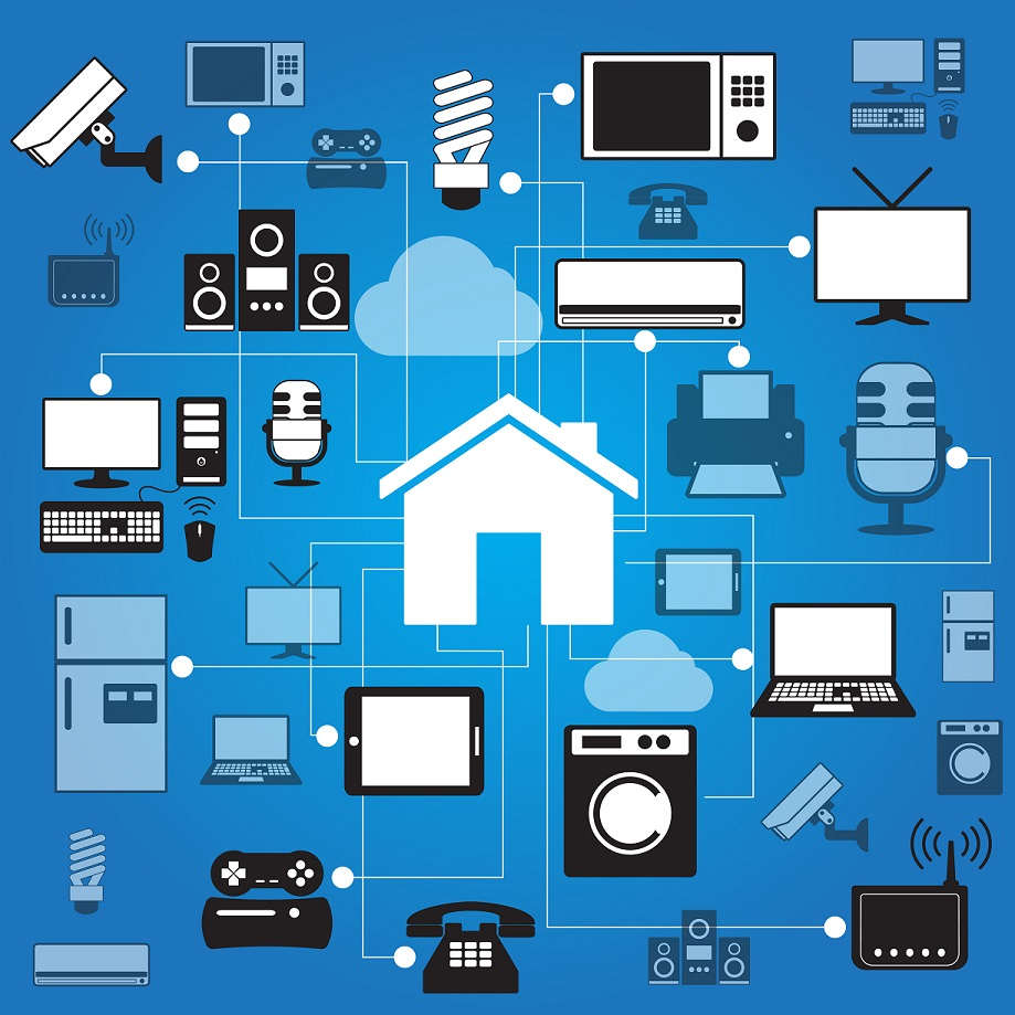 Diagram of Smart Home Additions and wiring