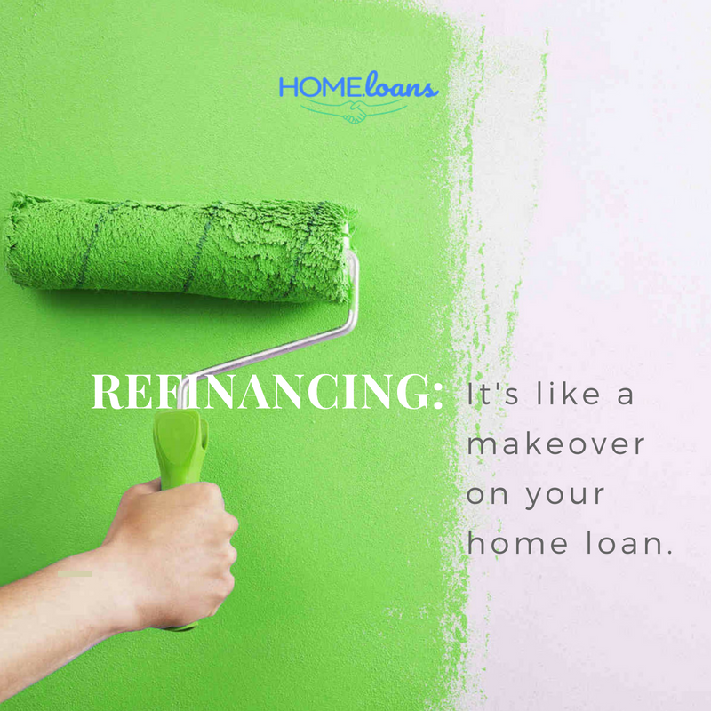 Refinancing can make your home loan much more appealing