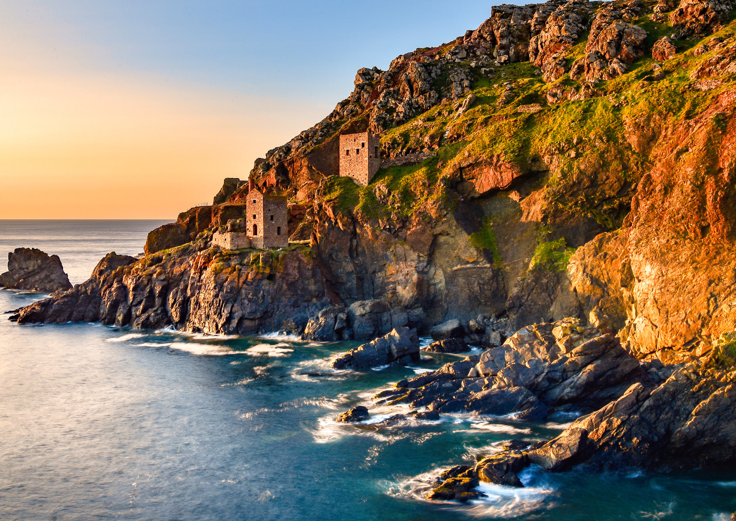 Botallack Mine Cornish Seasalt and Sage Inspiration