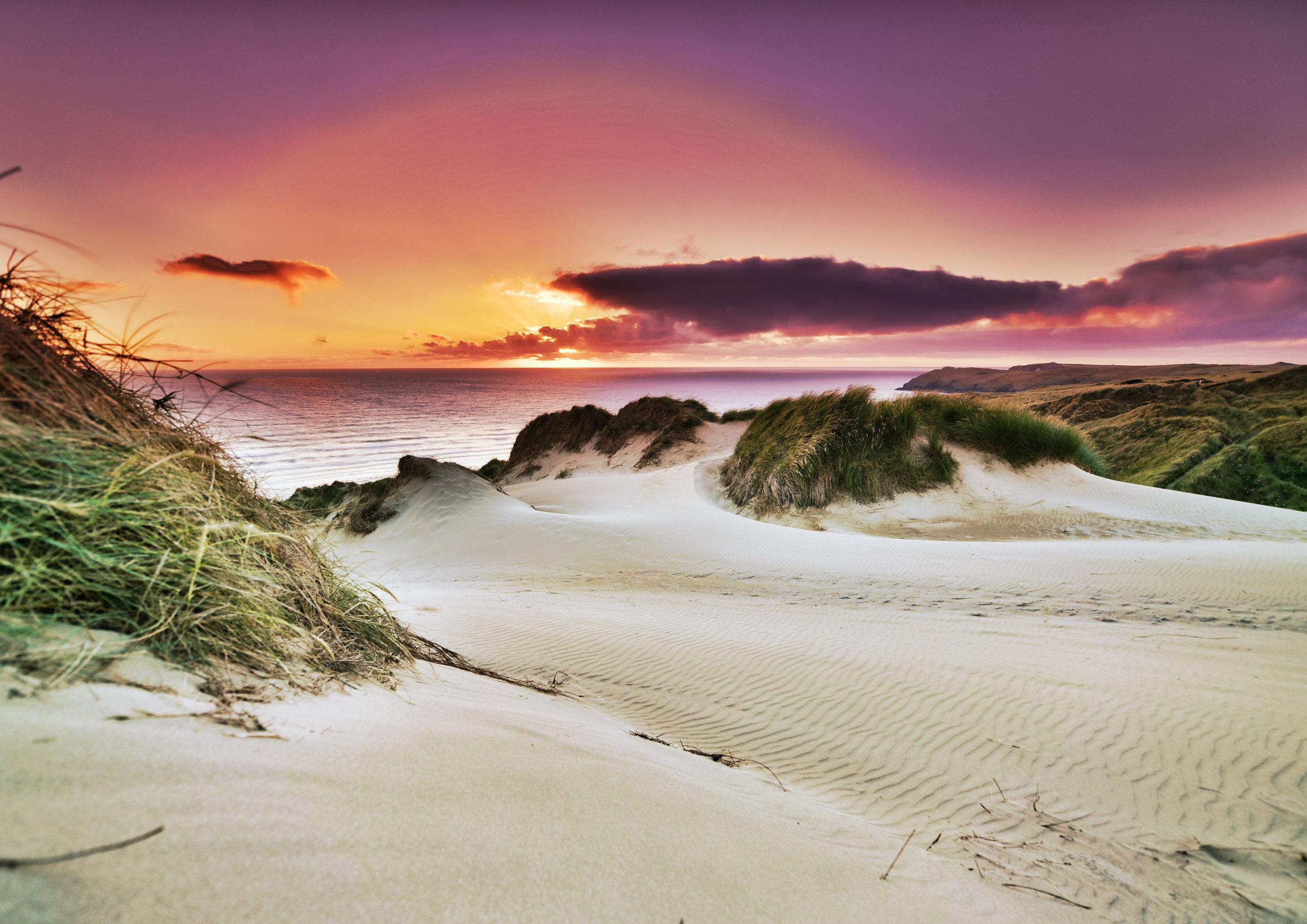 Perran Sands Sunset