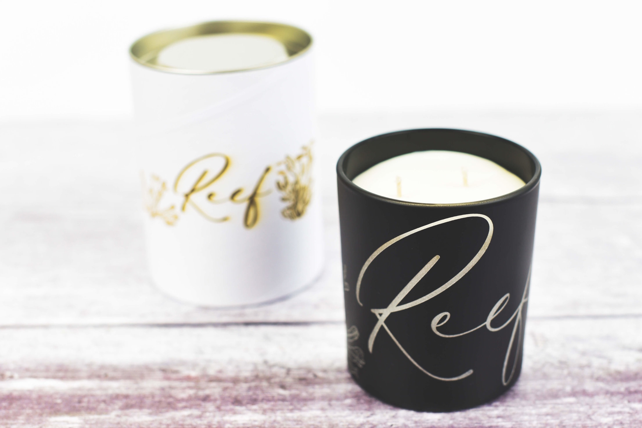 reef soy candle range