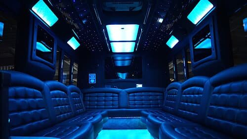 Tiffany F550 Limo Party Bus