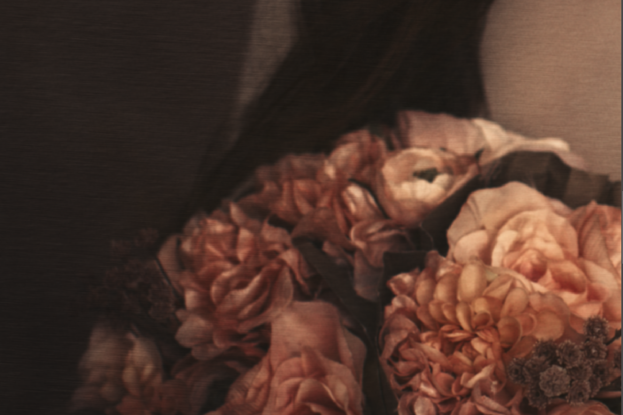 Detail Crop of Fine Art Portrait by Tora Anne Thompson