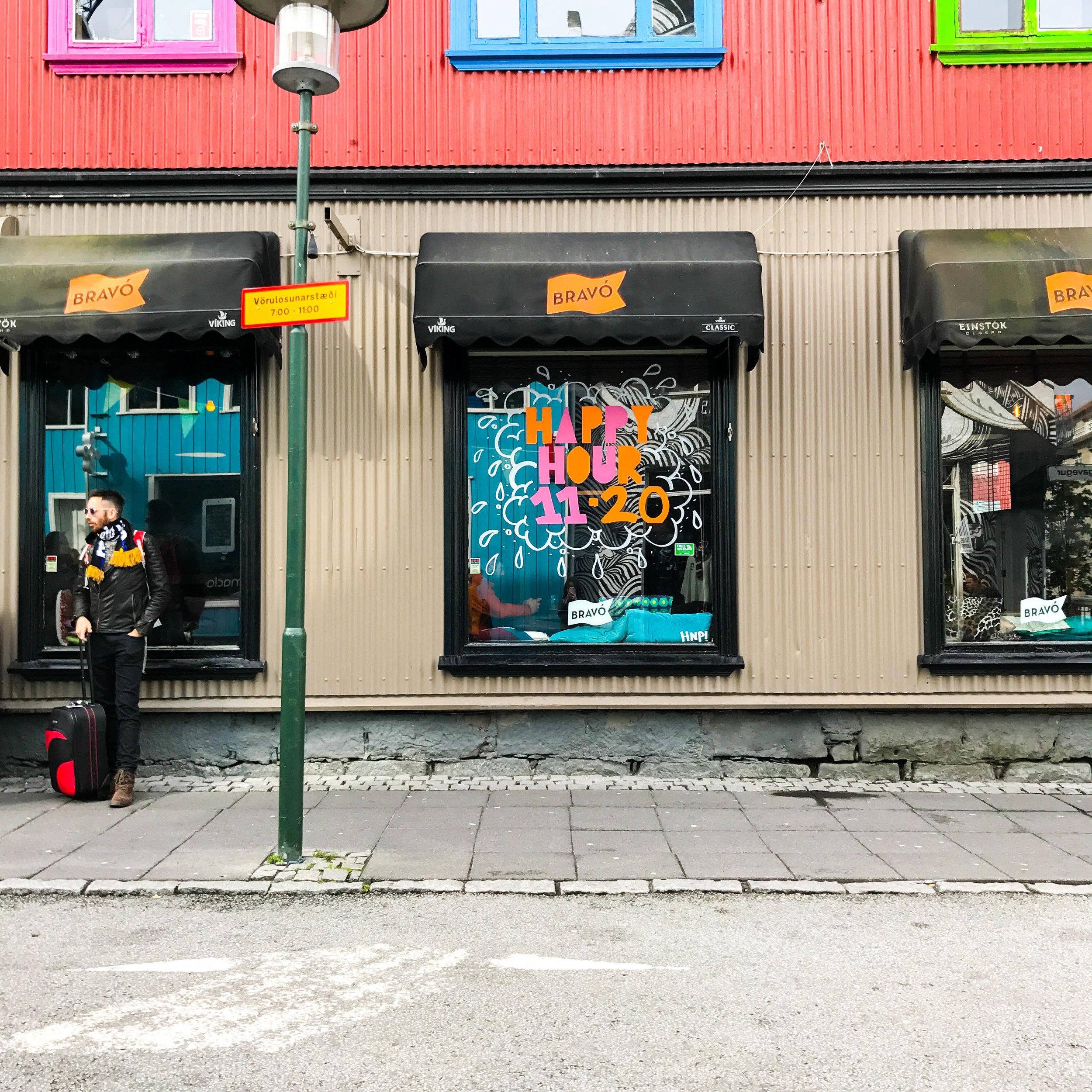 Downtown Reykjavik