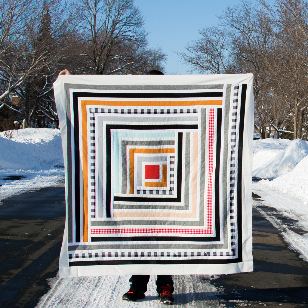 Campfire Quilt - Suzy Quilts (made by me!)