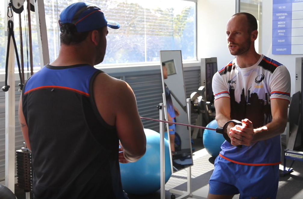 Ben Mather Stack St Physio Fremantle rehab training Western Force.PNG