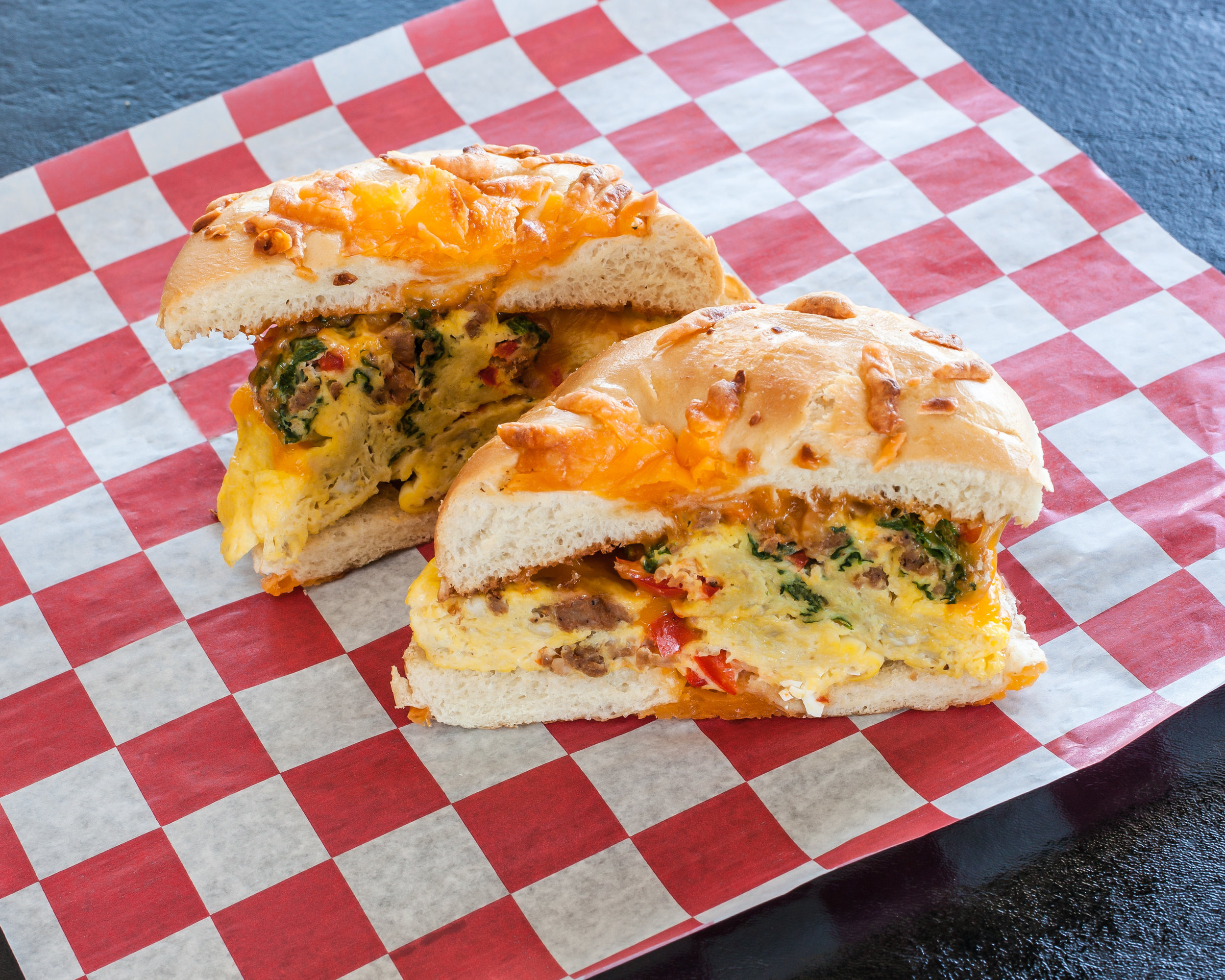 Egg Bagel Sandwich