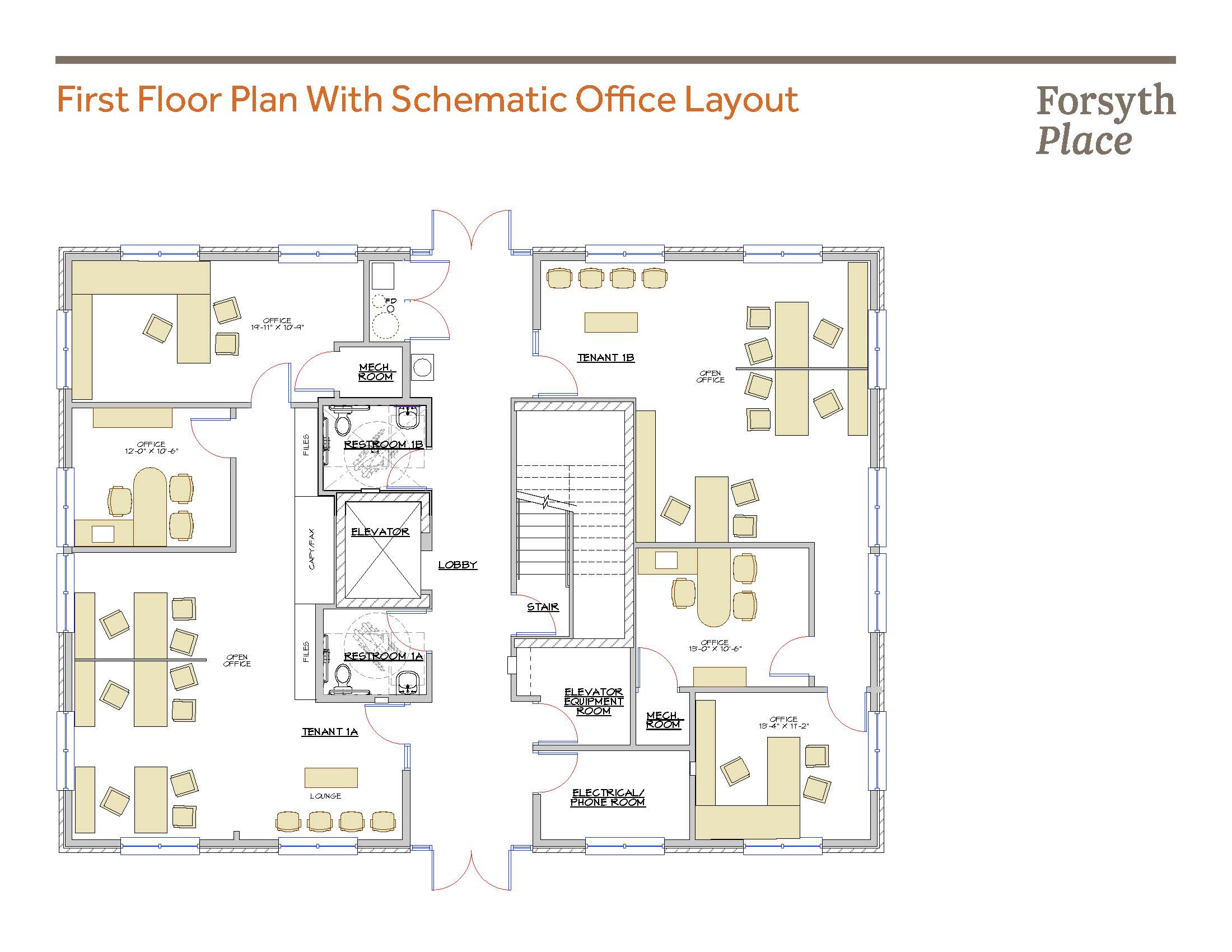 First Floor Plan with Office Layout.jpg
