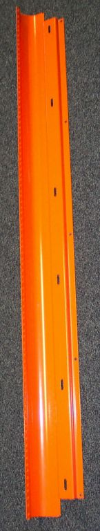 5 foot long Channel, Orange Powder Coat.jpeg