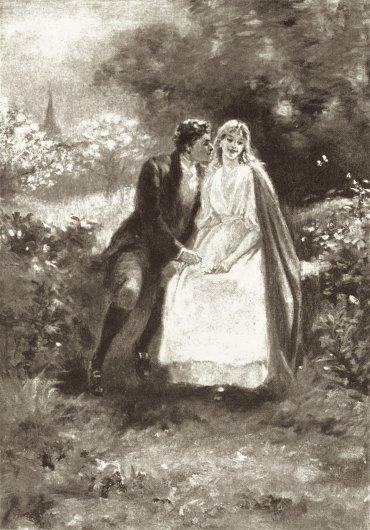 """""""Kiss Stealer"""" Edmund H. Garret 1895"""