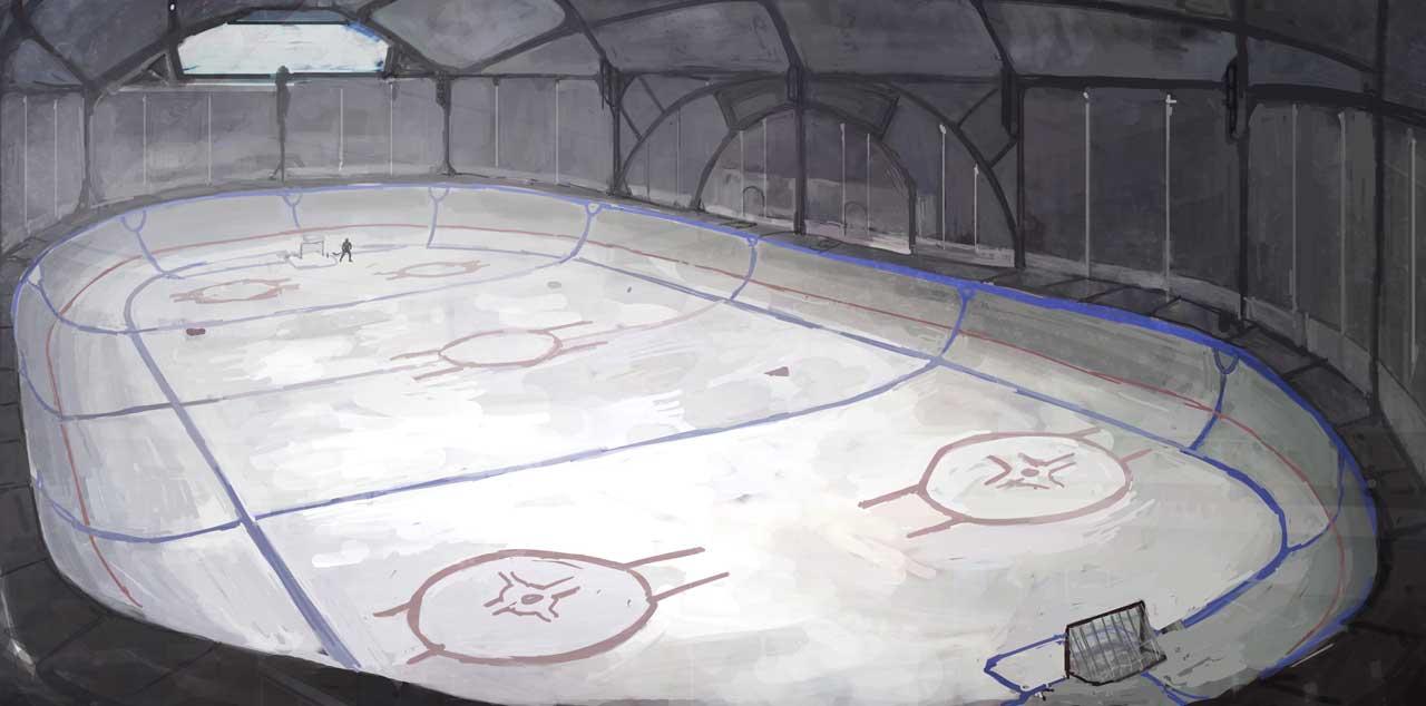 Ice Sport Mars Organization presented their new rinks near Noviymir,Mareotis, and Korolev.