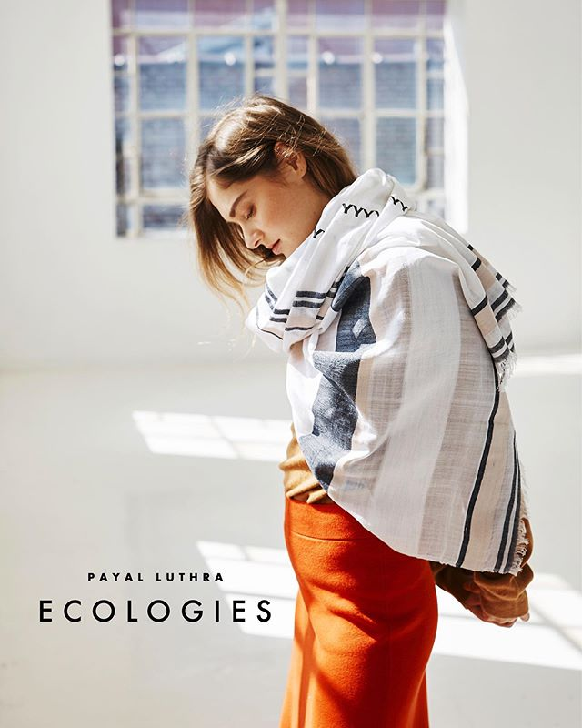 We are live!  Welcome to ECOLOGIES.  WE LOVE ANIMALS, PLANTS, LAKES, AND OCEANS.  WE LOVE COLOR AND DETAIL, LEARNING AND DISCOVERY, AND MAKING FRIENDS AROUND THE WORLD.  OUR WANDERLUST IS ENDLESS.  AND WE BELIEVE FASHION CAN INSPIRE CHANGE.  ECOLOGIES takes inspiration from the life and beauty of wild places that we have experienced firsthand. Our new mission is to celebrate nature and wildlife through designs that support conservation efforts.  Today we launch the SS19 RANTHAMBORE Collection, inspired by RANTHAMBORE NATIONAL PARK in India.  Using certified organic and ethically sourced materials, the collection includes handwoven #scarves, #sarongs, #travelwraps, and #throwblankets that can be used throughout the year - from the beach to colder climes.  A portion of every purchase will be donated to Tiger Watch, a local NGO that protects the wildlife of #Ranthambore, including the majestic Bengal #tiger.  We would love for you to check out the collection on our website. Link is in bio. Let us know what you think! And you can also sign up for our mailing list to get 10% off your first purchase!