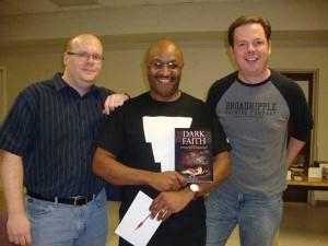 Jason Sizemore, Maurice Broaddus and Jerry Gordon