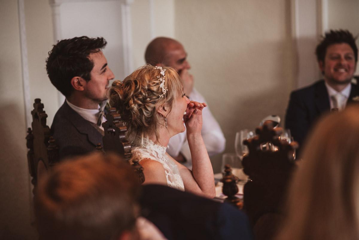wedding speeches natural reactions