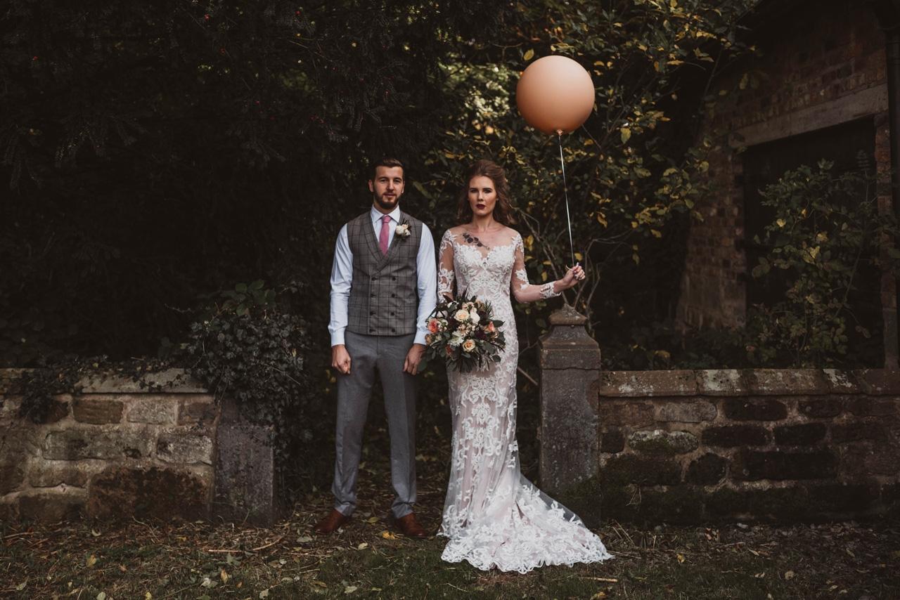 alternative untraditional cheshire wedding photographer