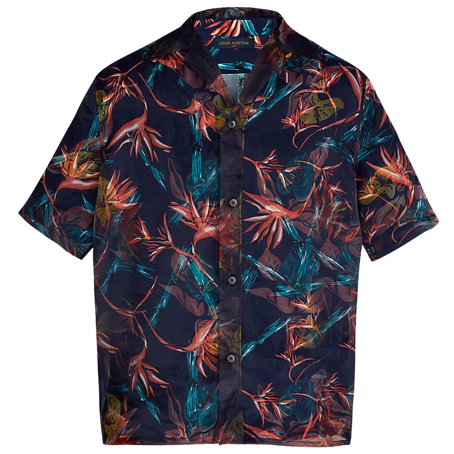 BAMBOO DOUBLE LAYER SHIRT - €1490 $19901A413SMARINE