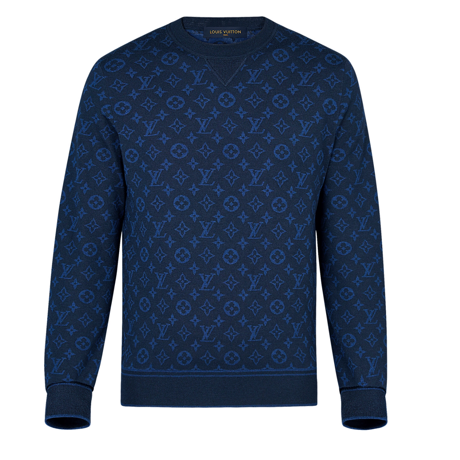 ALL OVER MONO CREW NECK  -  €850 $12201A46PQMONOGRAM JACQUARD