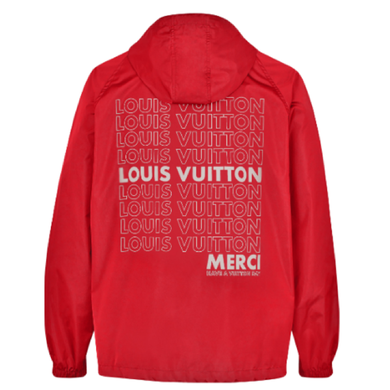 LV LIST GRAPHIC ANORAK - €1900 $27401A472URED