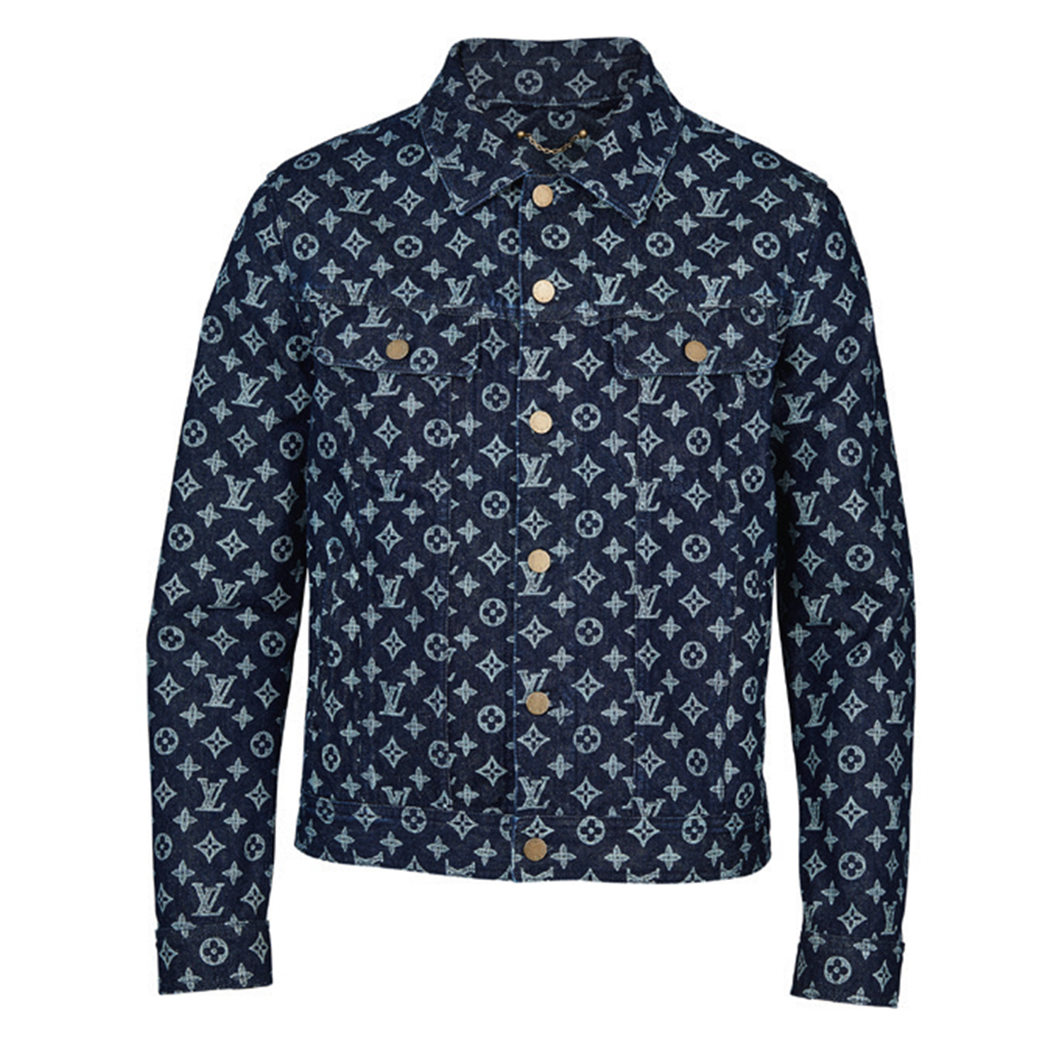 MONOGRAM DENIM JACKET - €1100 $15801A46V6MONOGRAM INK