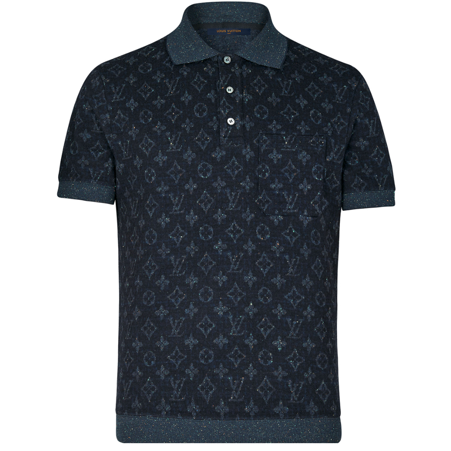 ALL OVER MONOGRAM POLO - €490 $7051A47GDMONOGRAM INK