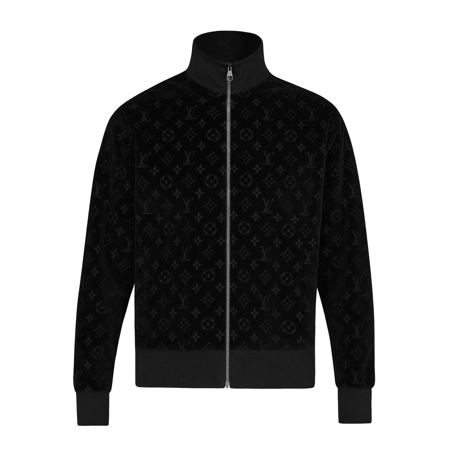 COTTON VELOUR BLOUSON - €1100 $15801A46W9MONOGRAM VELOURS