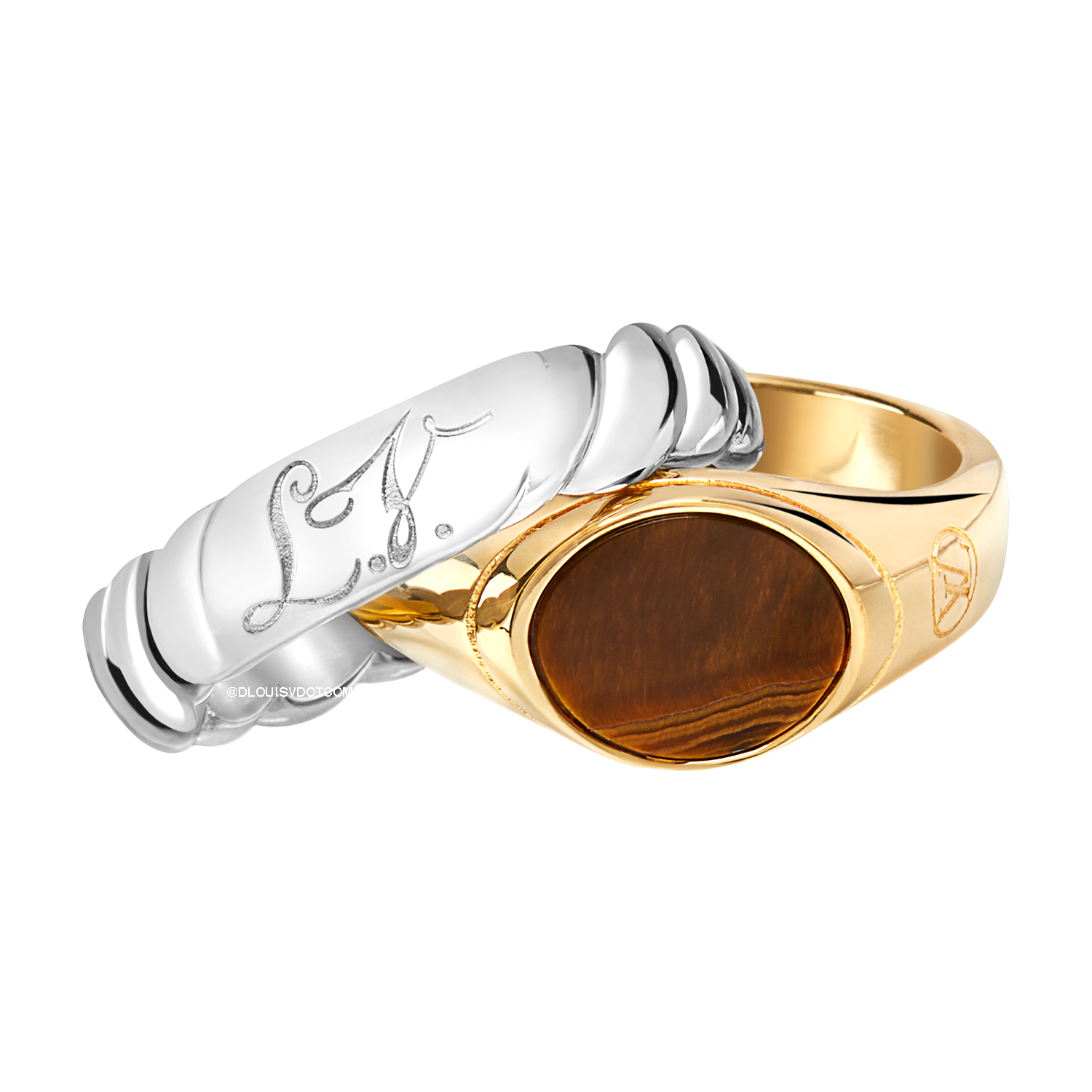LV TIGER'S EYE RING - €350 $515MP2136GRIS