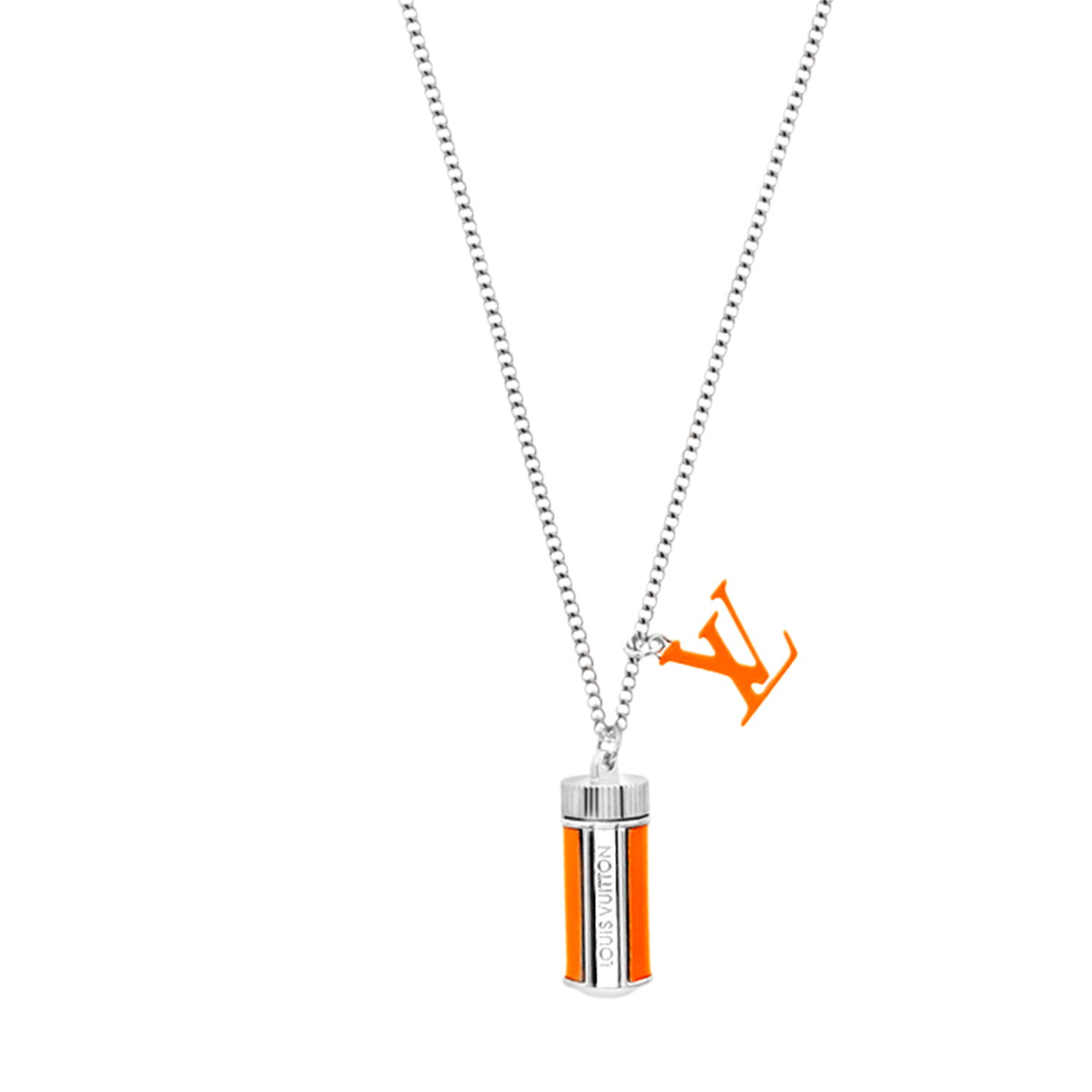 LV FLUO NECKLACE - €350 $515MP2142ORANGE