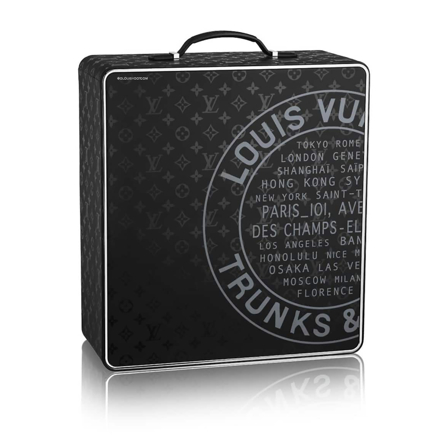 COCKTAIL CASE - €66,000 $M10192MONOGRAM ILLUSION