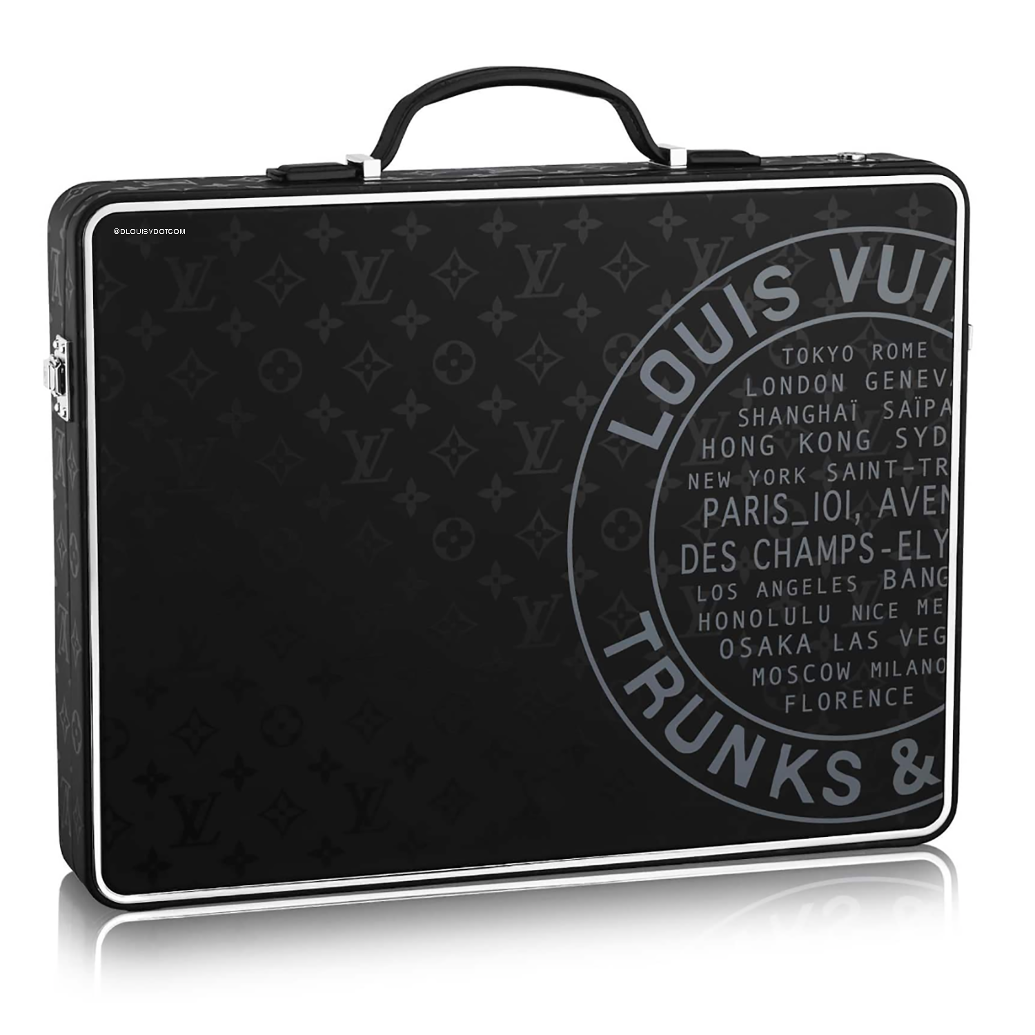 briefcase - €7500 $m10188monogram illusion