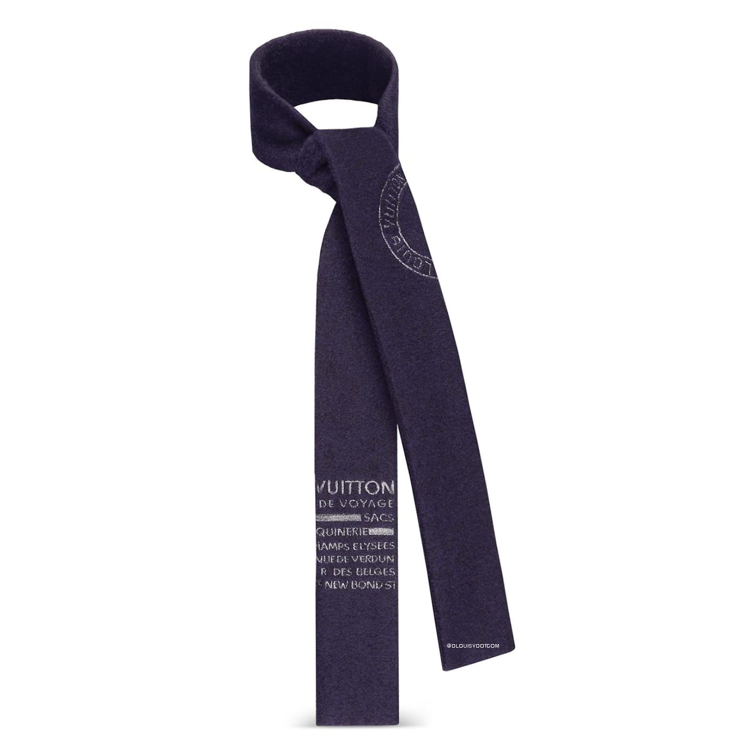 SLIM SCARF - €400 $MP1807MARINE
