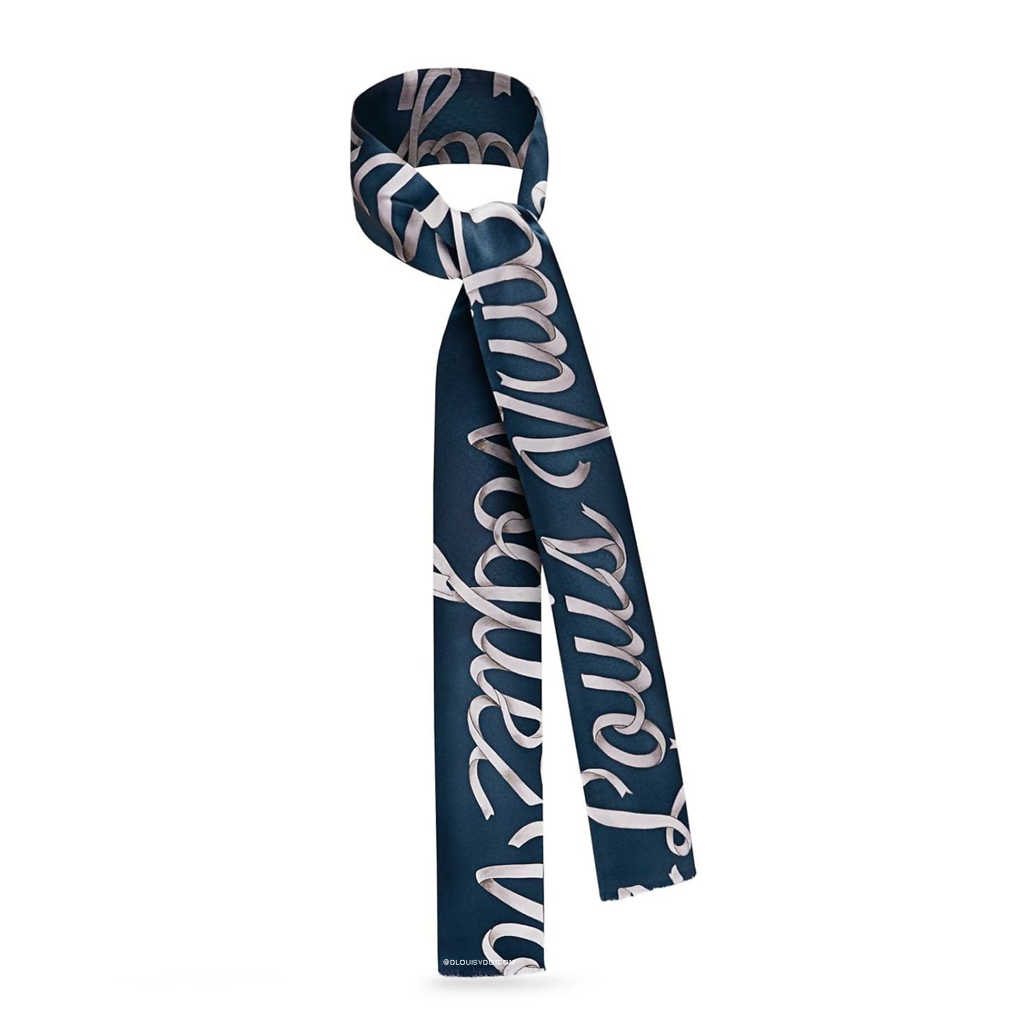 SLIM SCARF RIBBON - €195 $MP1815MARINE