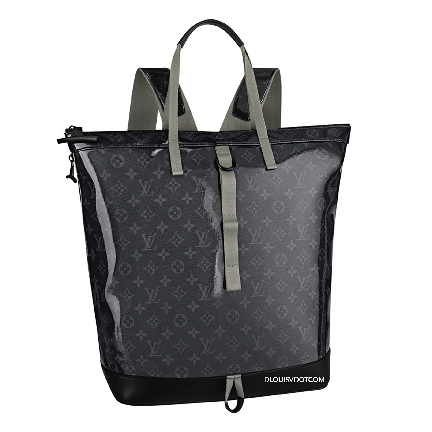 TOTE BACKPACK - €2510 $3400M43900MONOGRAM eclipsd GLAZE