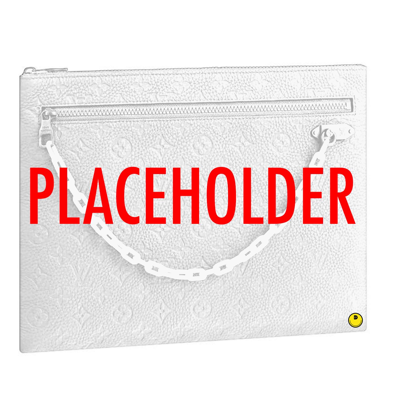 POCHETTE A4 - €910 $1340M67462TAURILLON POWDER WHITE