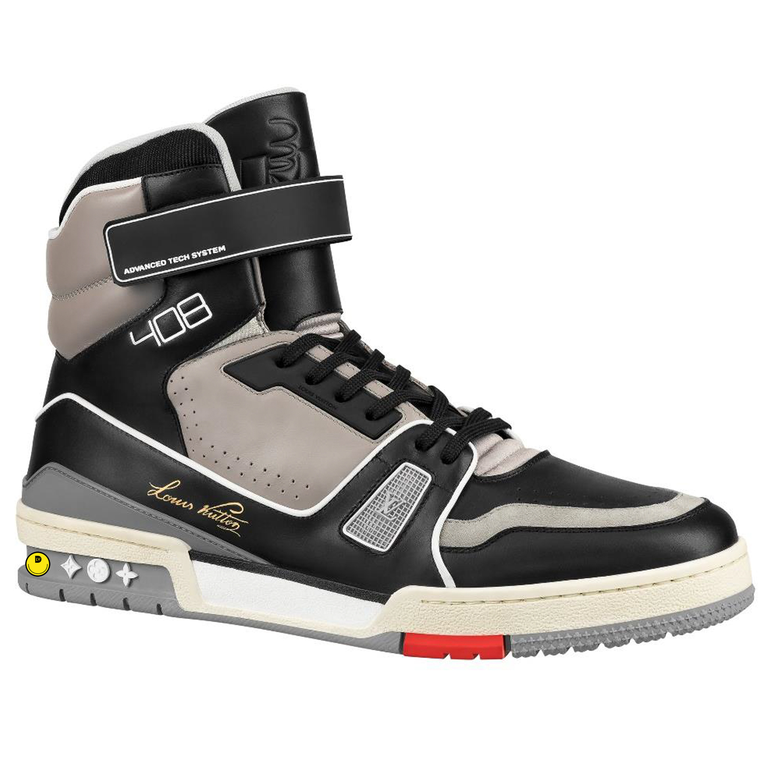 HIGH TOP SNEAKER - €1200 $16001A54ILNOIR
