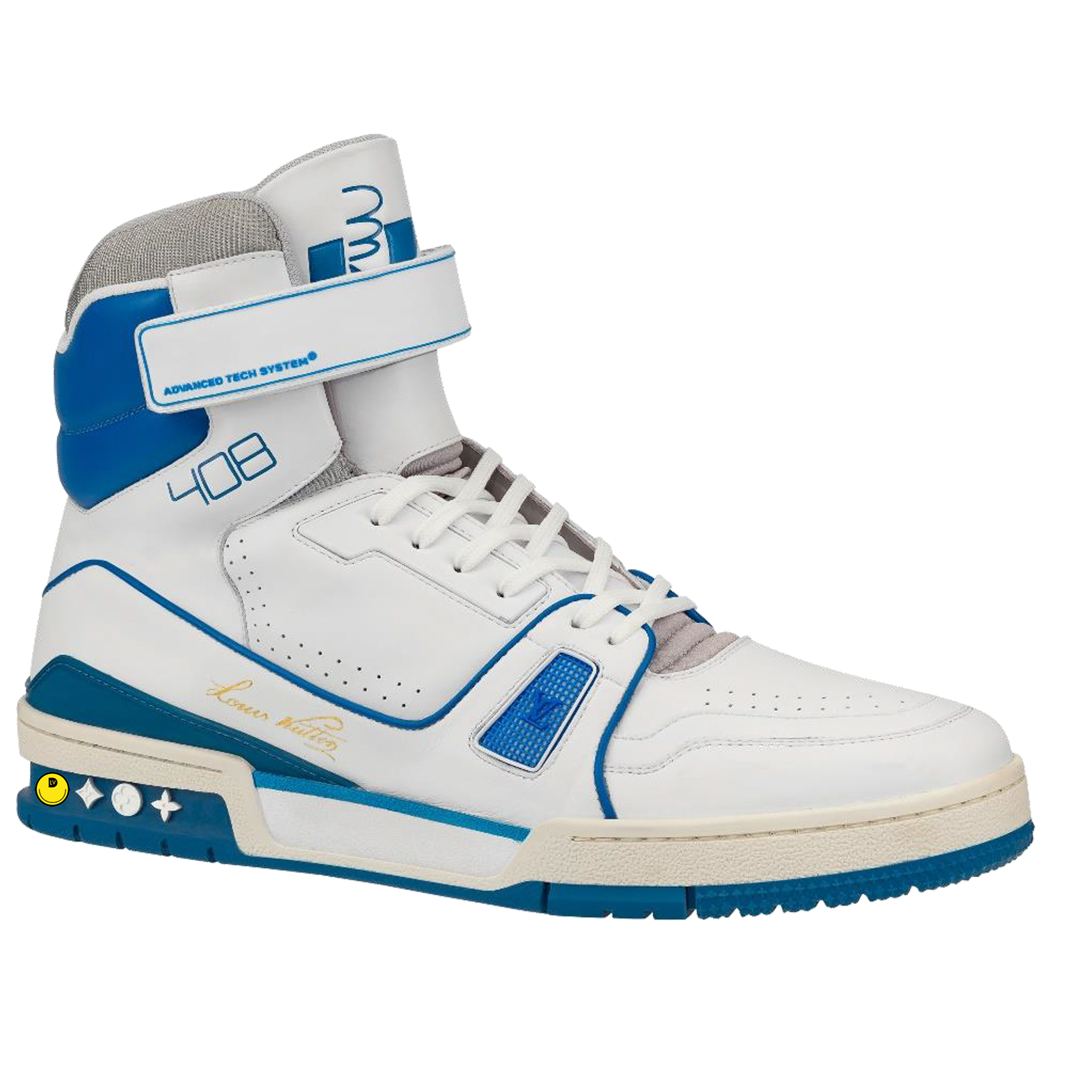 HIGH TOP SNEAKER - €1200 $16001A54J3BLEU