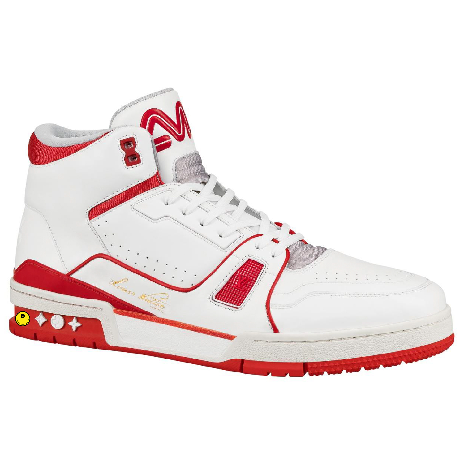 MID TOP SNEAKER - €990 $13001A54I3ROUGE