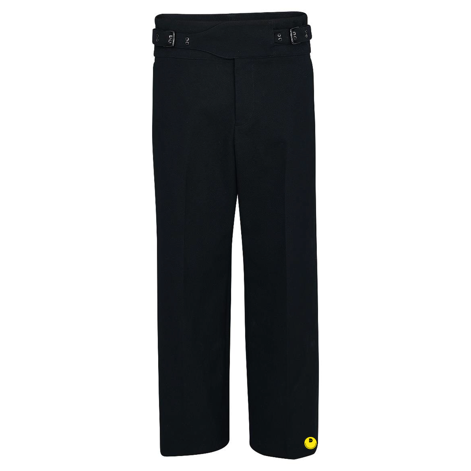 flared belted trousers - €1500 $-noir