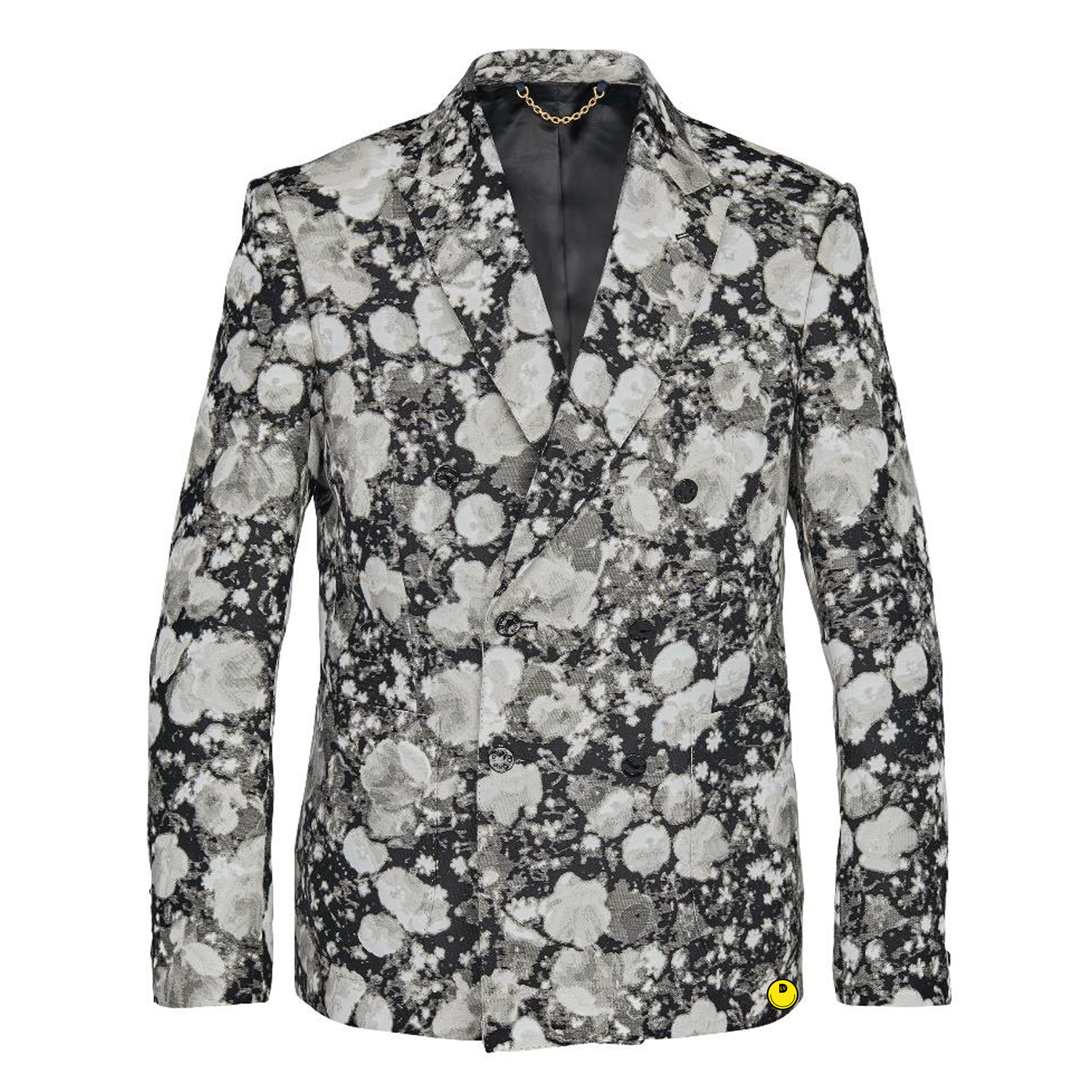 DOUBLE BREASTED JACKET - €2900 $-GRIS