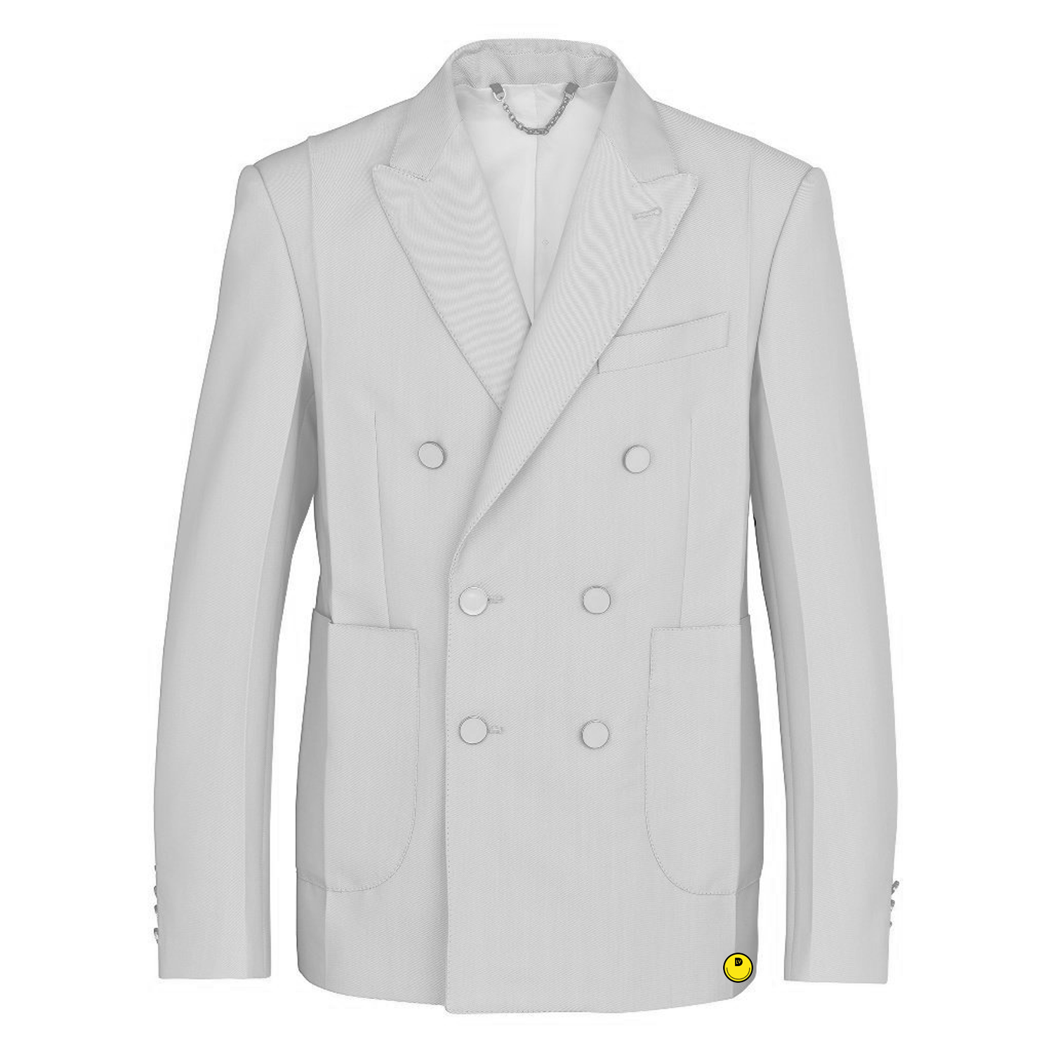 double breasted jacket - €2300 $-blanc