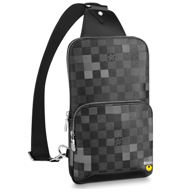 AVENUE SLING BAG - €1320 $N40068DAMIER PIXEL GRIS