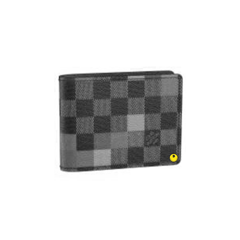 SLENDER WALLET - €370 $N60181DAMIER PIXEL GRIS