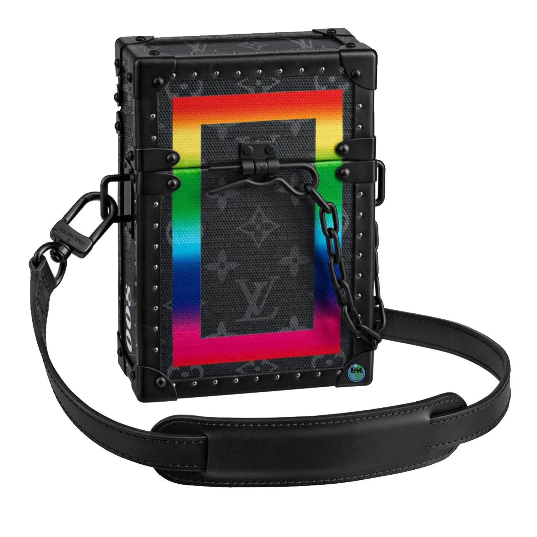 VERTICAL TRUNK - M20186€5500 $7700MONOGRAM ECLIPSE RAINBOW