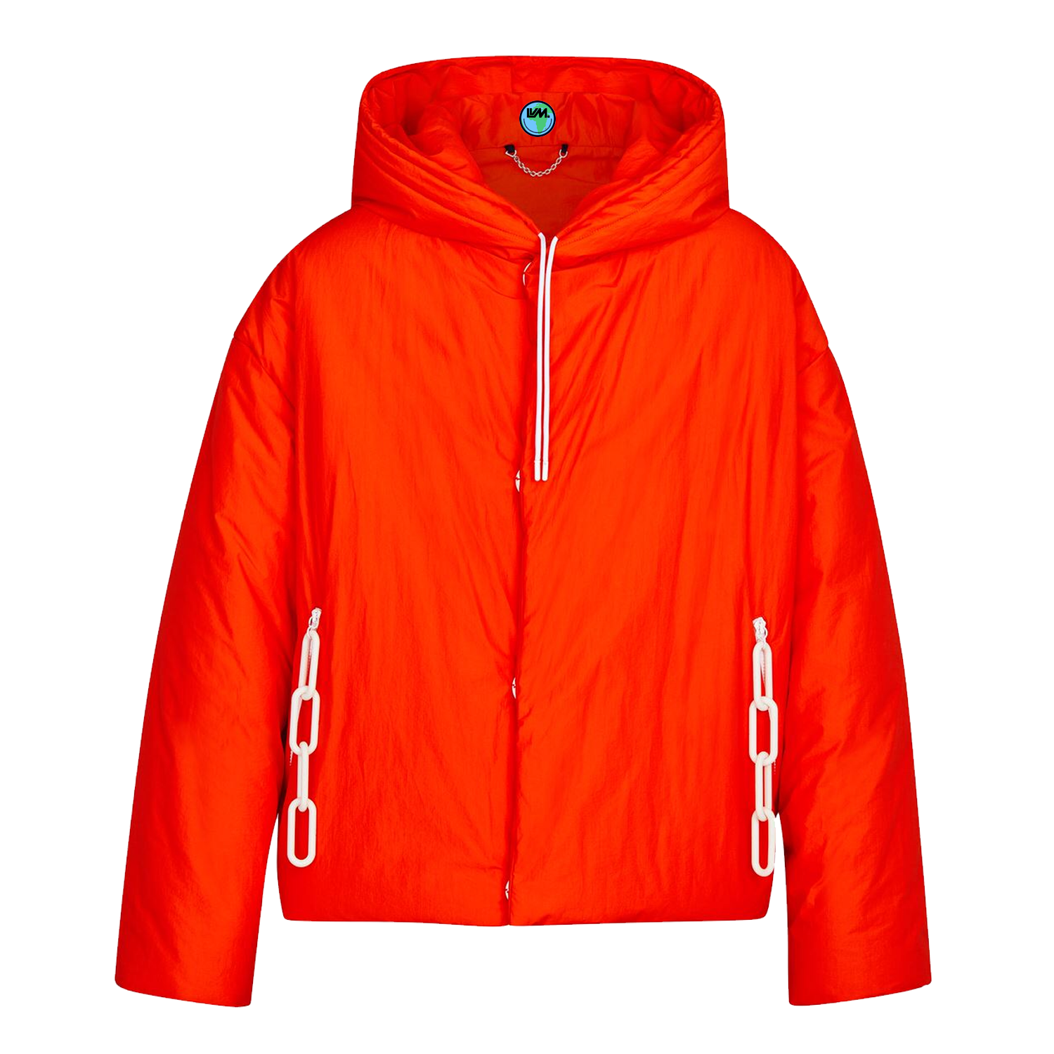 snapped button anorak - €2500 $33501a5dhforange