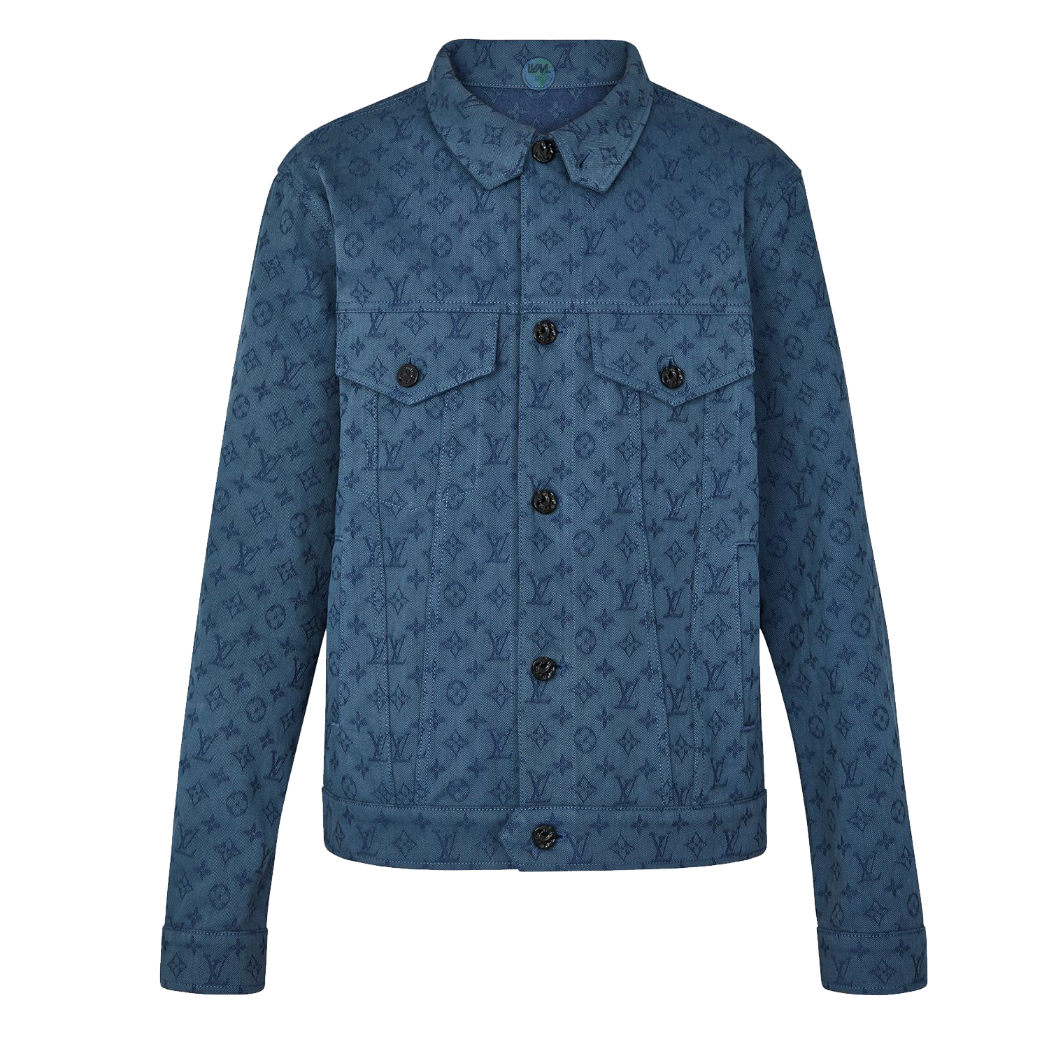 MONOGRAM DENIM JACKET - €1500 $19901A5D89BLEU