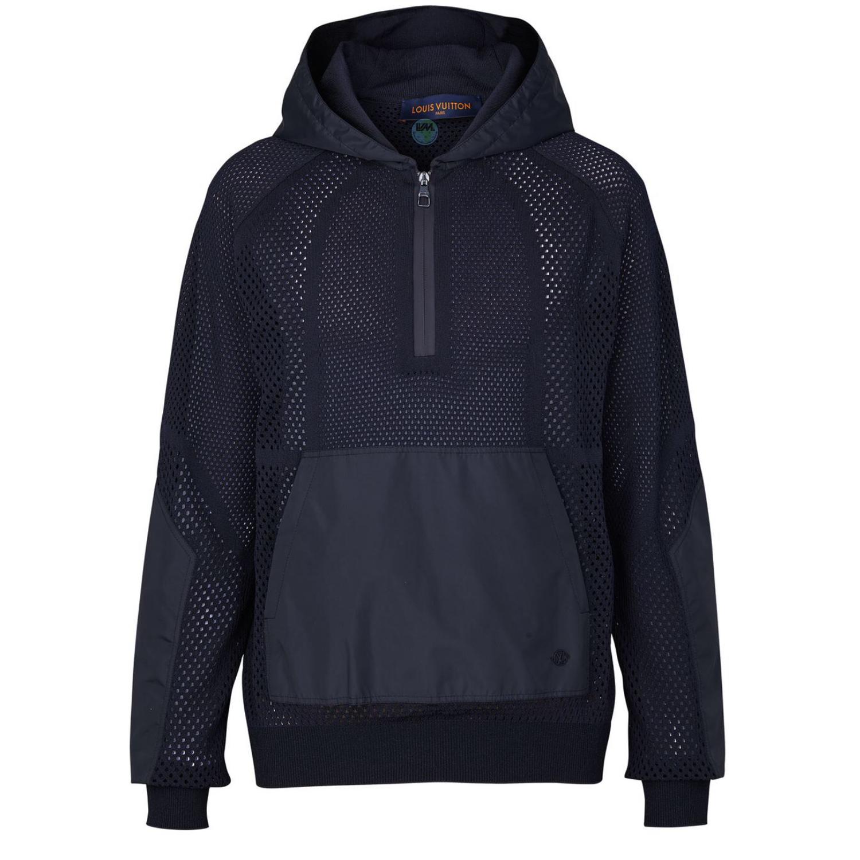 mesh hoodie - €1300 $17301a5cdmbleu