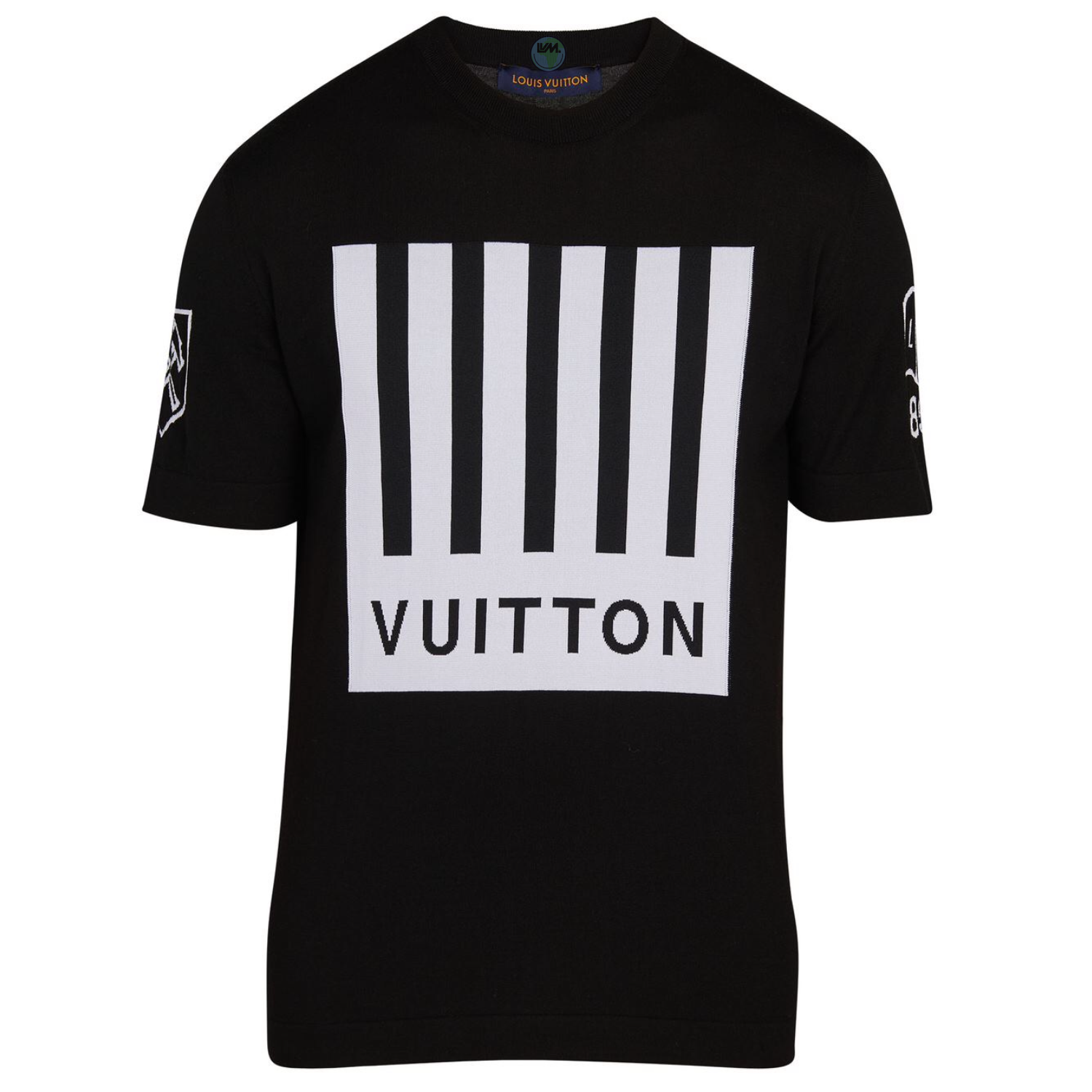 BARCODE & EARTH TEE - €650 $8651A5CDYNOIR