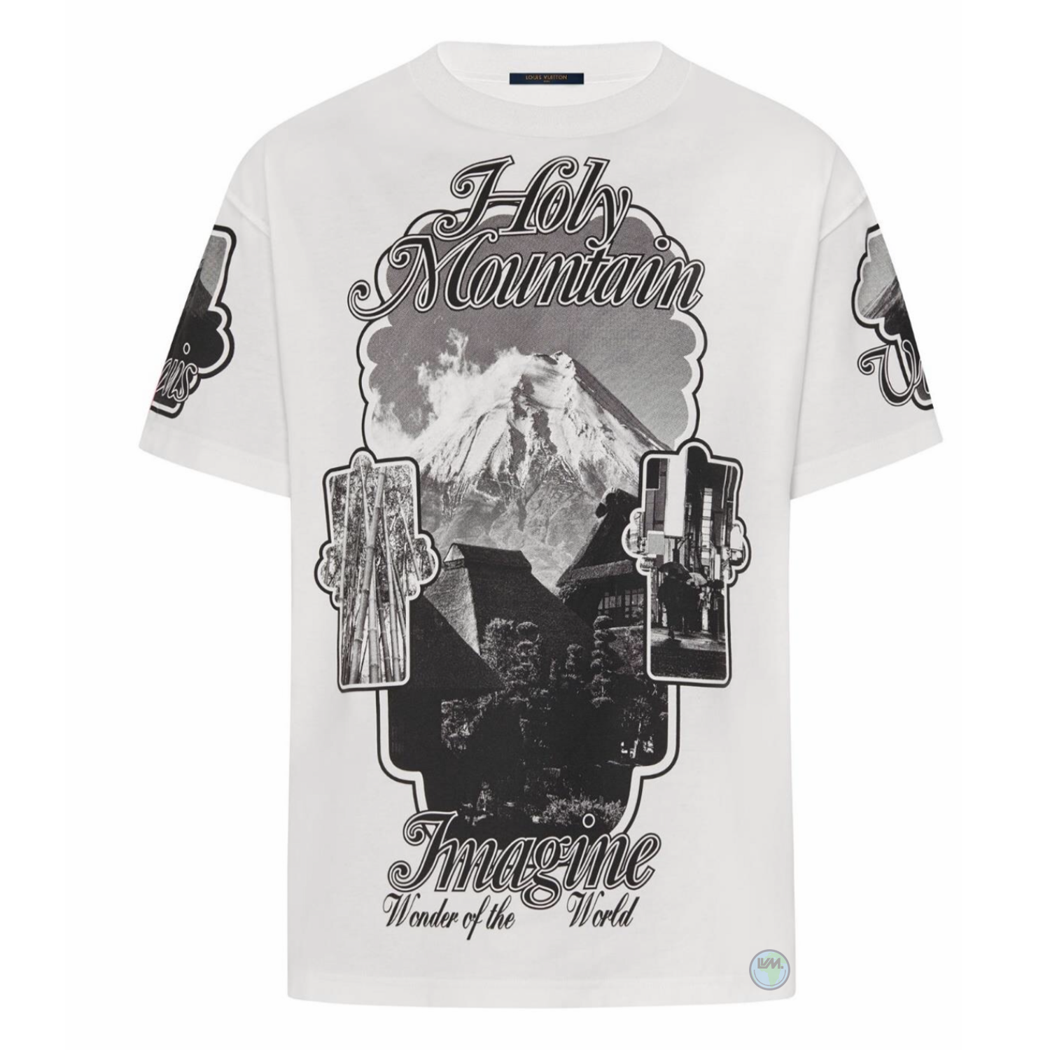 HOLY MOUNTAIN PRINTED TEE - €490 $6551A5DJUBLANC