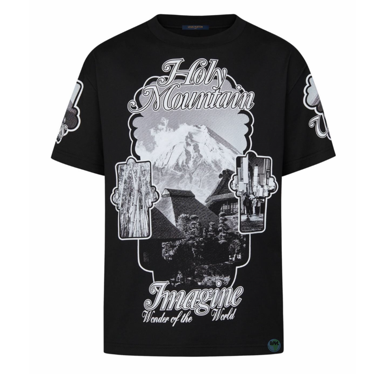 HOLY MOUNTAIN PRINTED TEE - €490 $6551A5CWQNOIR